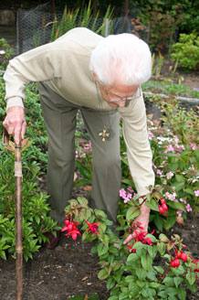 Harpwood Residential Nursing Home - Garden Activities