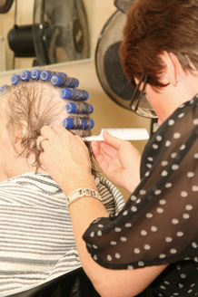 Harpwood Residential Nursing Home - Hairdressing Salon for residents at Harpwood